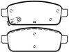 Brake Pad Set:13319294