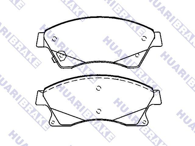 Brake Pad Set:542120