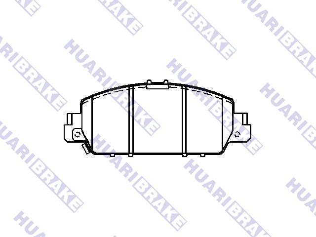 Brake Pad Set:45022-T2G-A00