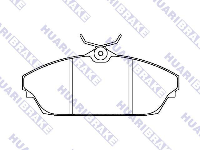 Brake Pad Set:2719-4210-0114
