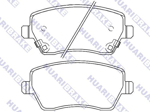 Brake Pad Set:D1060-1HA0A
