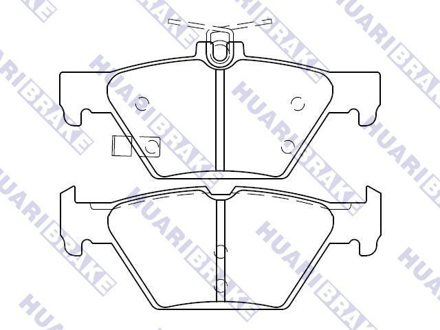 Brake Pad Set:26696-AL000