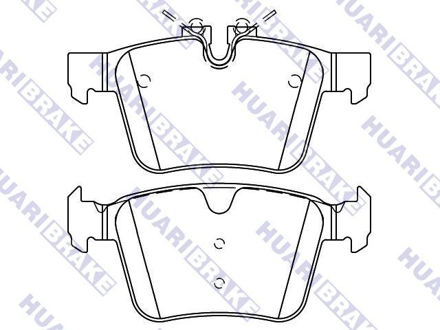 Brake Pad Set:LR061385