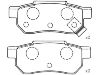 Brake Pad Set:06022-SP8-000