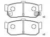 Brake Pad Set:44060-31U92